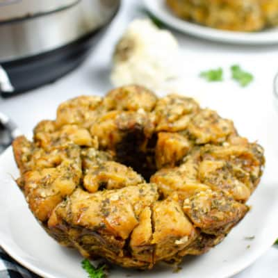 Instant Pot Garlic Parmesan Monkey Bread