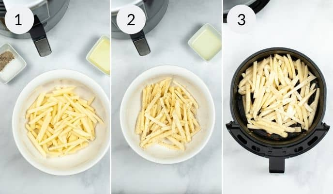 steps for Air-Fryer-In-n-Out-Animal-Fries
