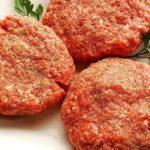Hamburgers made with the burger seasoning blend