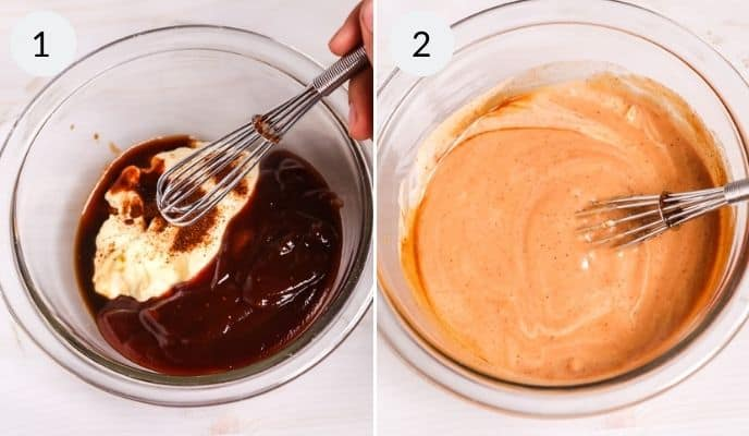 step by step instructions for making copycat campfire sauce