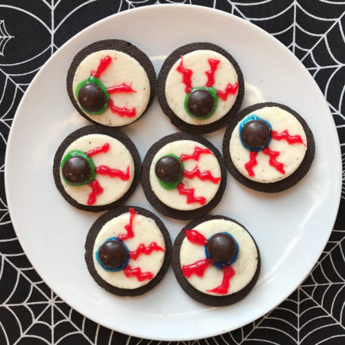 Easy Cookie Eyeballs