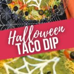 Halloween Taco Dip