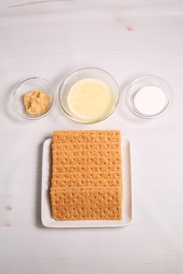 Graham Crackers, sugar, butter etc.