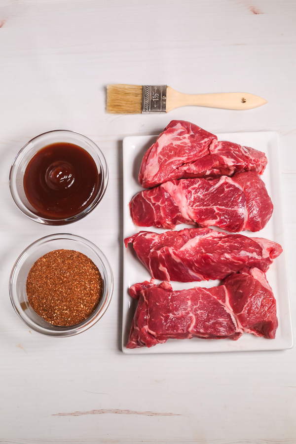 ingredients to make BBQ country style ribs